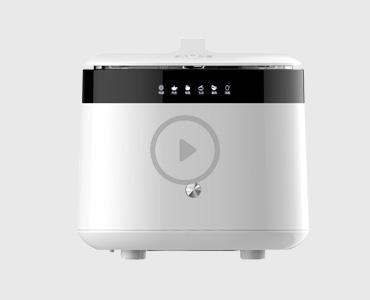 STY02果蔬清洗机实验视频