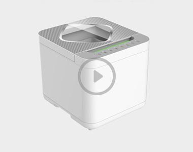 STY03A果蔬清洗机实验视频