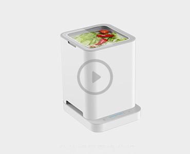 STY05果蔬清洗机实验视频