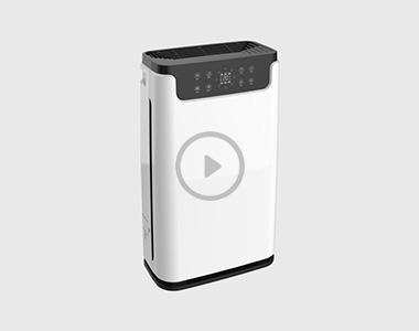 KQ01空气净化器实验视频